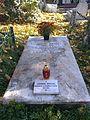 Bucuresti, Romania, Cimitirul Bellu Catolic (Ludovic Mrazec)(primul profesor de Mineralogie din Romania).jpg