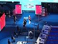 Budapest2017 fina world championships 1500freestyle final Yawen Hou China.jpg