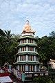 Buddha atop pagoda, Haw Par Villa (14791593584).jpg