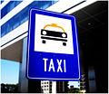 Buenos Aires - Cartel parada de taxis (Taxi sign).jpg