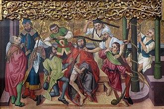 Buhl Altarpiece - Image: Buhl St Jean Baptiste 41