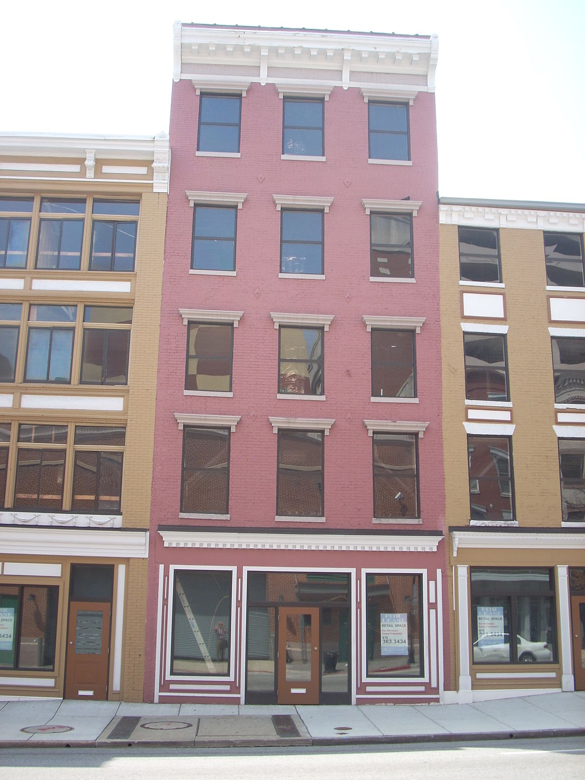 Building At 423 West Baltimore Street
