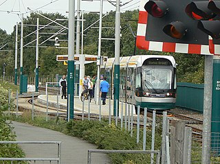 Bulwell Forest tram stop Tram stop on the Nottingham Express Transit tram system in Nottingham, England