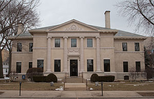 Burnham Athenaeum - Image: Burnham Athenaeum Champaign Illinois 4123