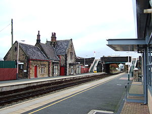 Burscough - Burscough Bridge railway station