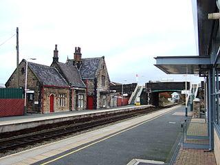 Burscough Bridge railway station Railway station in Burscough, Lancashire, England