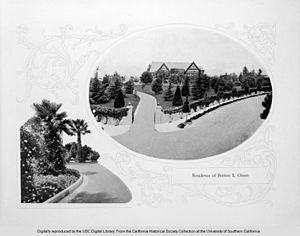 Burton E. Green - Burton E. Green's residence in Beverly Hills, California.
