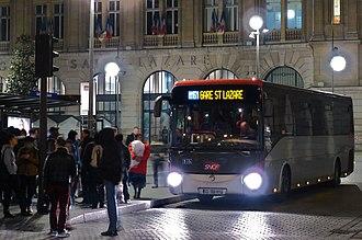 Noctilien - Noctilien Bus N151 at Paris - Gare Saint-Lazare