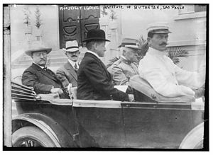 Instituto Butantan - Theodore Roosevelt at the Instituto Butantan in 1914