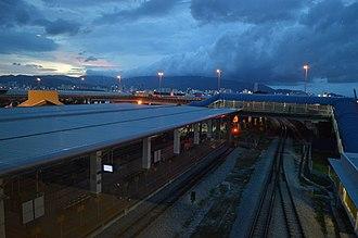 Butterworth railway station - Image: Butterworth Railway Station terminal