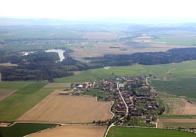 Byzhradec from air K2-1.jpg