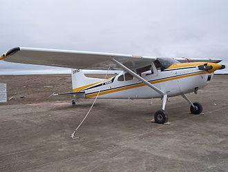 Cessna 185 Skywagon - Cessna 185 Skywagon II at Cambridge Bay Airport, Nunavut, Canada