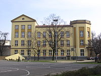 C.J.Ch.Zimmermann photo Catholic and Protestant secondary school Wroclaw west façade.JPG