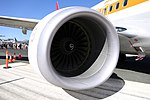 CFM International CFM56-7B24E engine mounted on Qantas (VH-XZP) Boeing 737-838(WL) 01.jpg