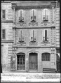 CH-NB - Moudon, Maison Tacheron, Façade, vue d'ensemble - Collection Max van Berchem - EAD-7379.tif