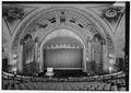 CLOSER VIEW OF STAGE - Alabama Theatre, 1811 Third Avenue North, Birmingham, Jefferson County, AL HABS ALA,37-BIRM,37-34.tif