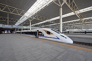 CRH3A-3087 EMU at Chengdu East Railway Station.jpg