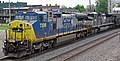 CSX Transportation - 7308 & Norfolk Southern Railway - 2674 diesel locomotives (Marion, Ohio, USA) 1 (42505342114).jpg