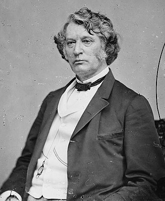 "Kansas–Nebraska Act - Charles Sumner on Douglas – ""Alas! too often those principles which give consistency, individuality, and form to the Northern character, which render it staunch, strong, and seaworthy, which bind it together as with iron, are drawn out, one by one, like the bolts of the ill-fitted vessel, and from the miserable, loosened fragments is formed that human anomaly—a Northern man with Southern principles. Sir, no such man can speak for the North."""