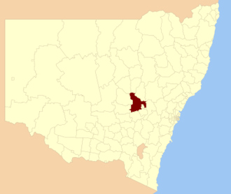 Cabonne Council - Location in New South Wales