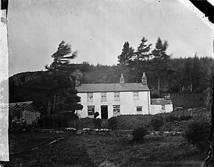 Cadwaladr Owen's old house, Dolwyddelan