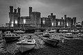 Caernarfon Castle Floodlit.jpg