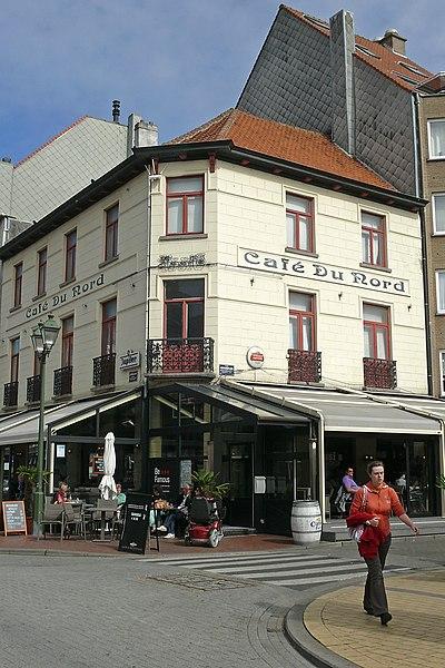 Ofbeeldienge Caf Du Nord Lippenslaan 64 Knokke Knokke