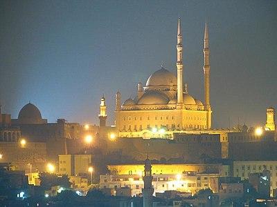 قلعة صلاح الدين الأيوبي بالقاهرة.