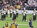 Cal Band performing at halftime at 2009 Poinsettia Bowl 4.JPG