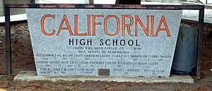 California High School (San Ramon, California) - Image: Cal High School 02