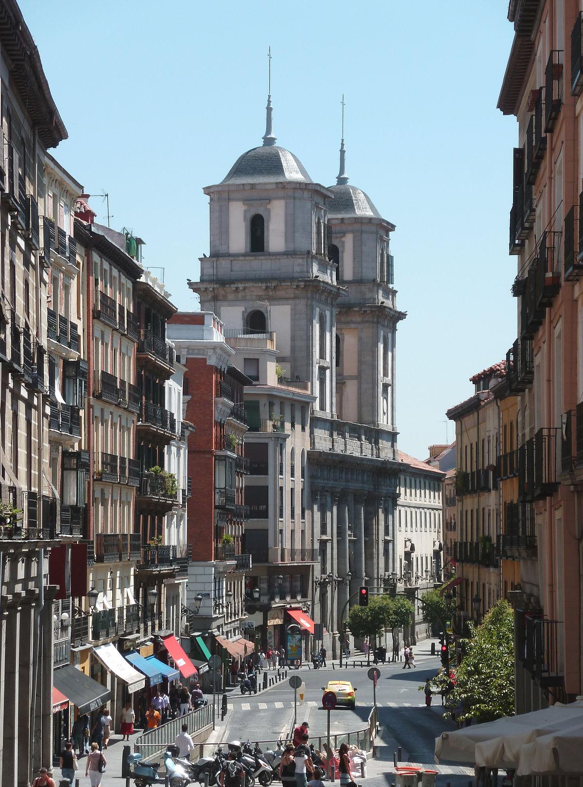 Calle de toledo wikipedia la enciclopedia libre for Calle del prado 9 madrid espana