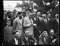 Calvin Coolidge and group outside White House, Washington, D.C. LCCN2016893687.jpg