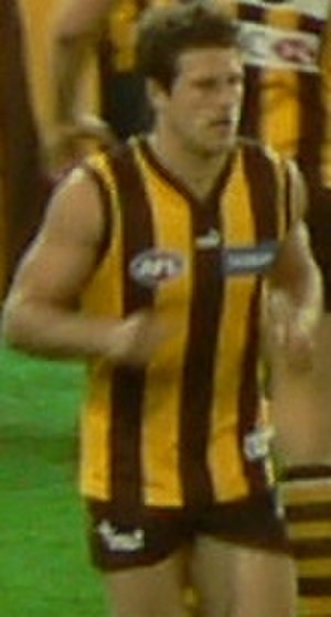 Campbell Brown (footballer) - Playing for Hawthorn during the 2007 AFL season