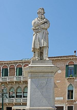 Niccolò Tommaseo - Statue in Venice