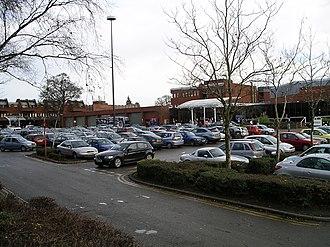 Cannon Park - Cannon Park shopping centre (photo 2007)