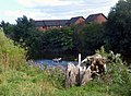 Canoe on the Wye by Lower Bullingham - geograph-3624233.jpg