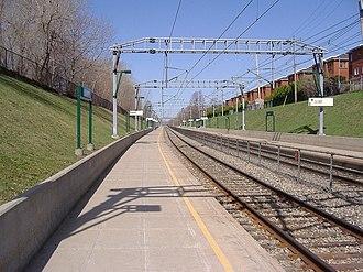Côte-des-Neiges–Notre-Dame-de-Grâce - The Canora station on the RTM's Deux-Montagnes line.