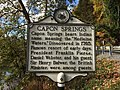 Capon Springs Historical Marker Capon Lake WV 2014 10 05 01.JPG