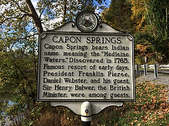Hampshire County, West Virginia - Capon Springs