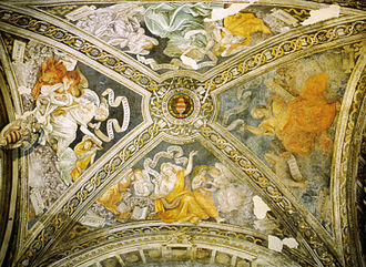 Carafa Chapel - The vault.