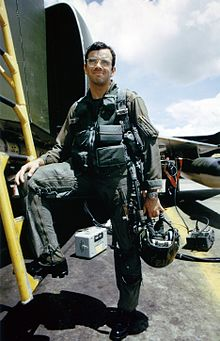 Captain Jeffrey Feinstein beside F-4 Phantom.jpg