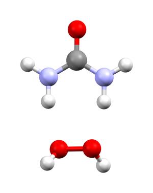 Hydrogen peroxide - urea - Image: Carbamide peroxide