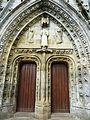 Carhaix 33 Eglise Saint-Trémeur Le portail ouest.jpg