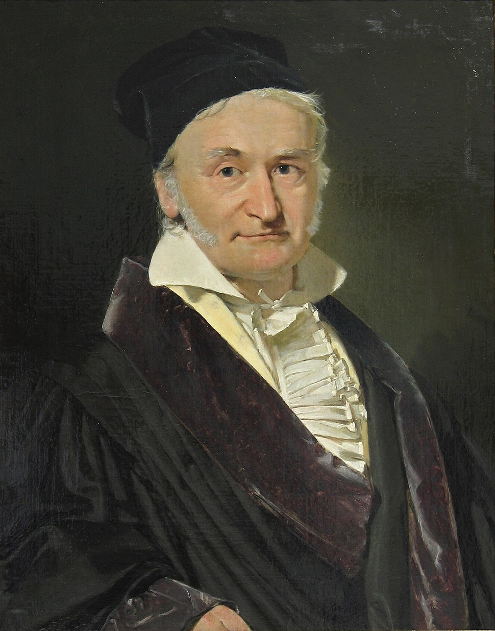 Carl Friedrich Gauss 1840 by Jensen