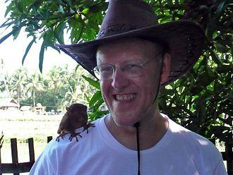 Lsjbot - Sverker Johansson, the developer of Lsjbot.