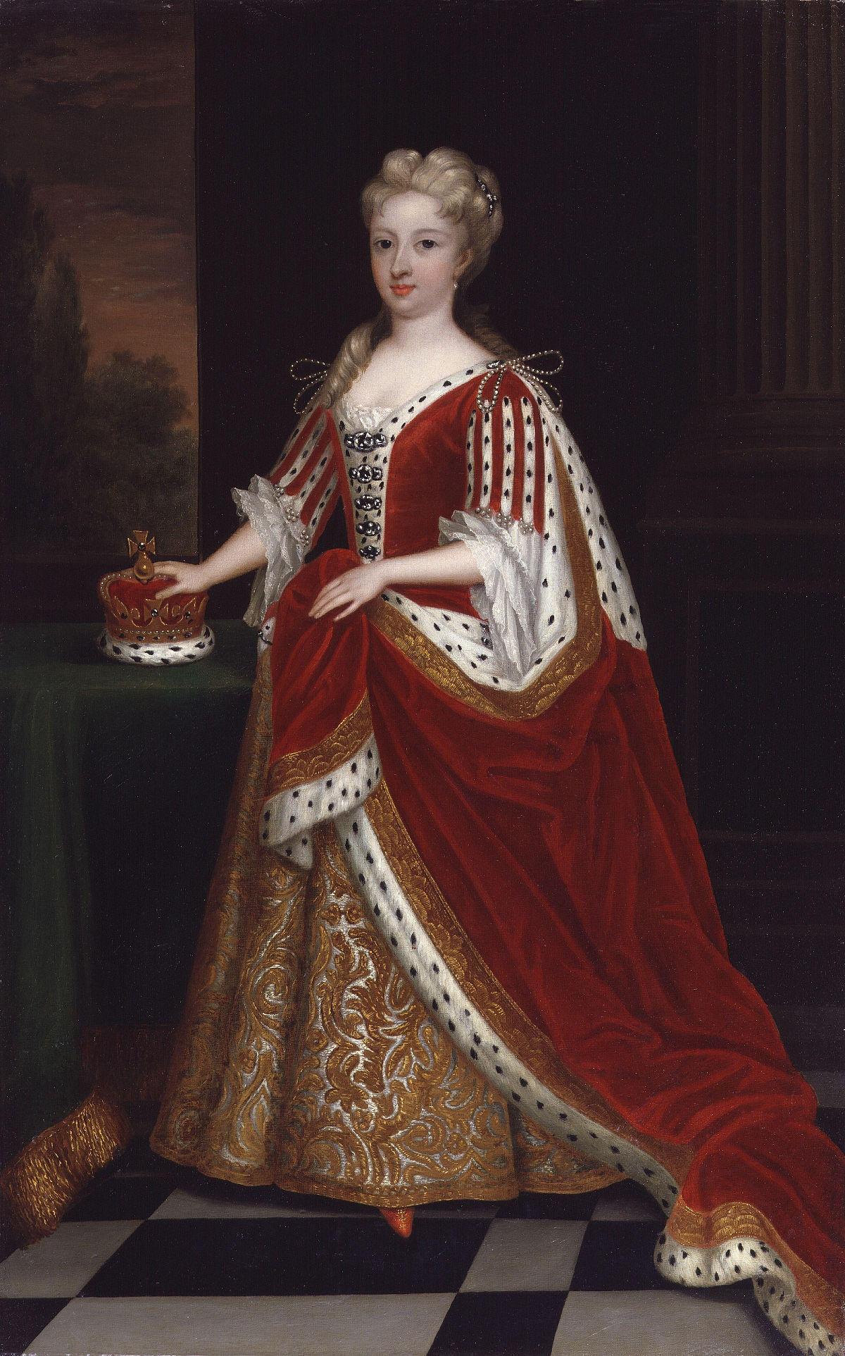 Caroline Wilhelmina of Brandenburg-Ansbach by Sir Godfrey Kneller, Bt.jpg