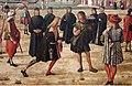 Carpaccio, storie di s.orsola 03, Ritorno degli ambasciatori alla corte inglese, 1495 ca. 07.JPG