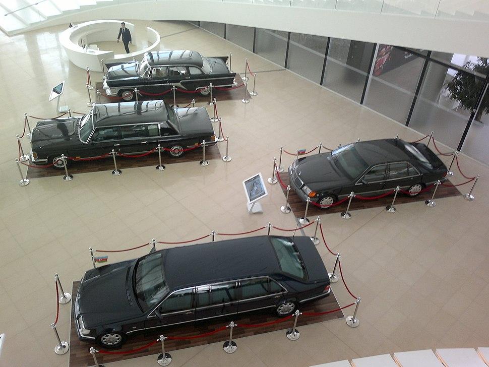 Cars belonged to Heydar Aliyev in Heydar Aliyev Center