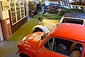 Cars in the Pořežany museum 02.jpg