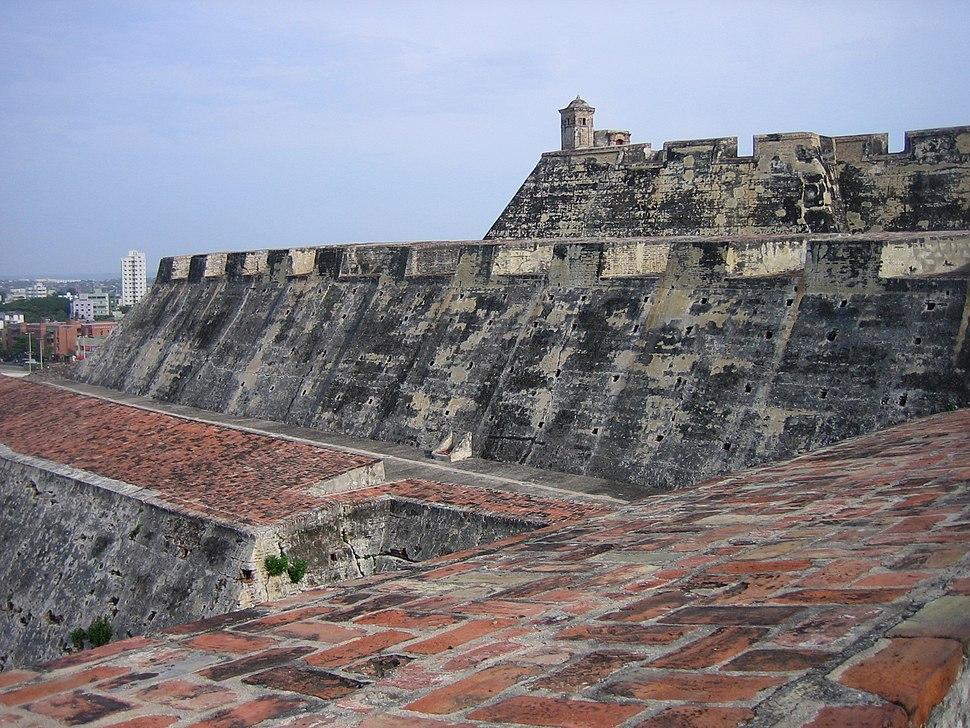 Cartagena - Fortaleza San Felipe de Barajas - 20050430bis